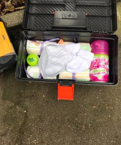 Papa's luierverschoon gereedschaps koffer - papa to be - vaderdag cadeau - Cadeau aanstaande vader