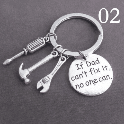 If dad can't fix it - Sleutelhanger - Vaderdag cadeau - Cadeau voor papa - Cadeau vader