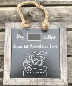 Sinterklaas - Sinterklaas aftelkalender