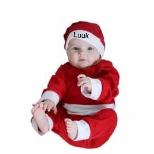 Kerst muts gepersonaliseerd met naam