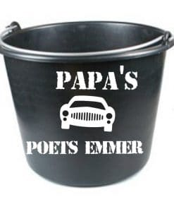 Opa's/ papa's auto poets emmer - vaderdag cadeau