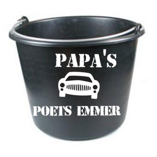 Opa's/ papa's auto poets emmer - vaderdag cadeau
