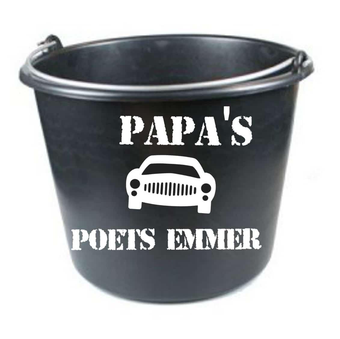 Opas Papas Auto Poets Emmer Vaderdag Cadeau