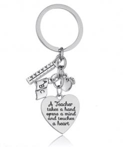 A teacher - Sleutelhanger - Sleutelhanger - einde schooljaar cadeau - juffendag cadeau - cadeau voor de juf - cadeau voor de meester