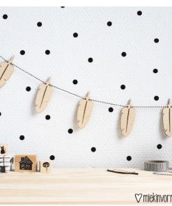 Houten slinger - Kinderkamer decoratie
