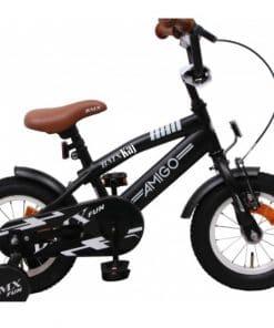 Jongens fiets met naam 12 inch