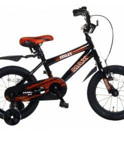 Jongen fiets met naam 14 inch