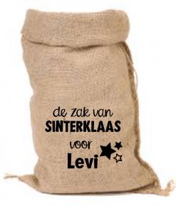 Jute zak | Gepersonaliseerd | Zak van Sinterklaas| Cadeau zak met naam| Sinterklaas zak| Zak voor cadeau's met naam| Gepersonaliseerd, Sinterklaas decoratie, Sinterklaas, Cadeau zak