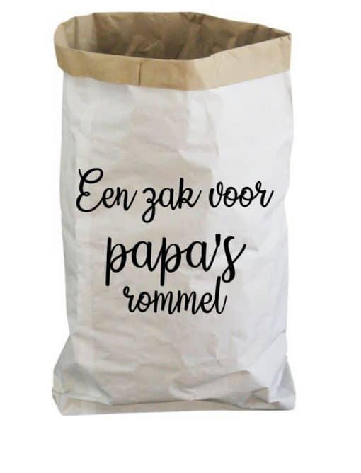 Paperbag - Papa's rommel