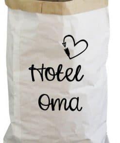 Paperbag - Hotel opa en oma - Opa - Oma