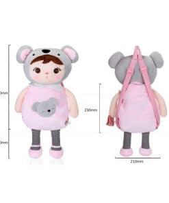 Metoo panda met naam - gepersonaliseerde zachte pop - Kraam cadeau - naam cadeau - Gepersonaliseerd cadeau
