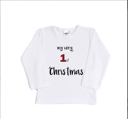 Shirt - My first christmas - Babyshirt