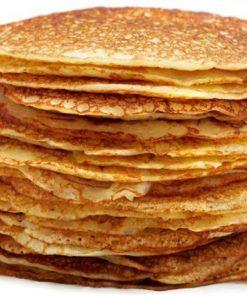 Pannenkoeken/ taart eten kinderfeestje