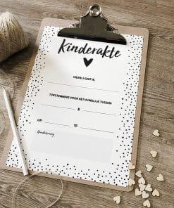 Kinderakte bruiloft