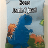 Traktatie zakje - Dinosaurus - Chipszakje - Dino - trakteren op school - Dino traktatie - T-rex traktatie - Chipszakje gepersonaliseerd