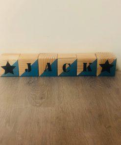 Geboorte blokken, Naam cadeau, Kraam cadeau , Geboorte cadeau , Gepersonaliseerd cadeau, Stapelblokken, Houten blokken met naam , Naam blokken