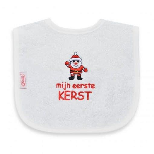 Slab - Mijn eerste kerst - Baby slabbetjes - Slabbetje - Slabben - Gepersonaliseerd met tekst - Kraam cadeau - Gepersonaliseerde slabben
