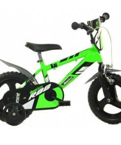 Dino - Jongens fiets met naam 12 inch