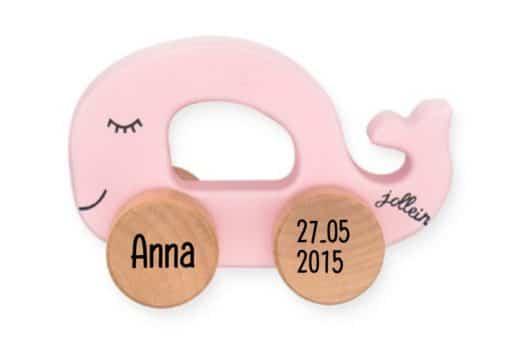Speelgoed auto Sea Animal met naam, Trekdier beer met naam, gepersonaliseerd speelgoed, jollein met naam , Kraamcadeau, Naamcadeau,Geboorte cadeau , Naam cadeau , Naam kado