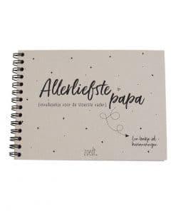 Allerliefste papa - invulboekje voor de stoerste vader