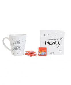 Cadeaupakket 'Voor de liefste mama' - mok en Tony's - Moederdag cadeau - Cadeau moeder - Koffie mok moederdag - Gepersonaliseerd