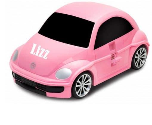 Reiskoffer Volkswagen Beetle trolley - Gepersonaliseerd