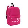 School rug tas - Fushia - Gepersonaliseerd,gepersonaliseerde tas, schooltas met naam, tas met naam, rugtas met naam, gymtas met naam