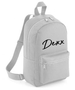 School rug tas - Handwritten name - Gepersonaliseerd