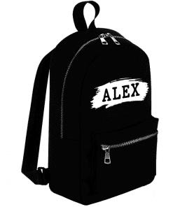 School rug tas - stroke naam - Gepersonaliseerd