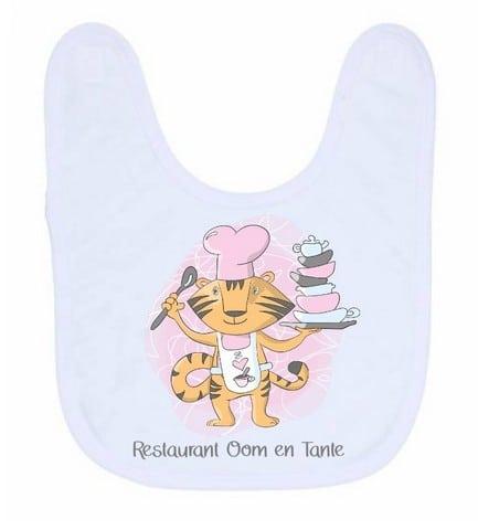 Slab - Restaurant oom & tante, Restaurant, Gepersonaliseerde slab, Slab met naam, Kraam cadeau, Geboorte cadeau, Kinderslabben