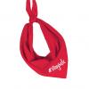 Bandana - Zakdoek - Stay safe - Mondkapje Bandana/zakdoek rood voor volwassenen. Deze rode bandana/zakdoek is op verschillende manieren te dragen, u kunt deze namelijk als shawl of bandana knopen. Afmeting: 83 x 62 x 62 cm (driehoek). Materiaal: 80% polyester, 20% katoen. Kwaliteit: 95 grams. We hebben allemaal te maken met die ongelofelijke virus covid 19. En we weten niet hoelang dit nog gaat duren. We hopen natuurlijk dat het snel afgelopen is met deze tijd en dat we lekker naar buiten kunnen. Maar we vrezen het al, dat gaat waarschijnlijk stapsgewijs gebeuren. Hoe handig is het dan om een leuke mond doekje te hebben die je zowel als sjaal als Bandana en Mondkapje kan gebruiken. Ga jij daarmee veiliger over straat? Natuurlijk is dit geen garantie dat het ook daadwerkelijk helpt om de virussen tegen te houden