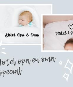Oma's special - Hotel opa&oma ledikant laken - Hoeslaken