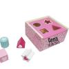 Vormenstoof - gepersonaliseerd met naam - Kraam cadeau - geboorte cadeau - gepersonaliseerd speelgoed- Naam cadeau - Gepersonaliseerd cadeau