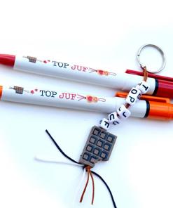 Pen - Juf of Meester- Einde schooljaar cadeau - Einde school jaar cadeau - Juffen dag cadeau - Cadeau voor de juf - Gepersonaliseerde cadeaus