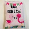Traktatie Flamingo - Chipszakje - Gepersonaliseerde schooltraktaties - Traktatie met naam - Lego traktatie - Trakteren op school