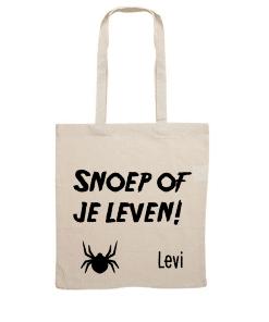 Trick or treat - Snoep ophaal tas met naam - Snoep of je leven - Halloween - Snoep op halen - Gepersonaliseerde tas - Tas met naam