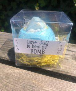 Diamonds Are Forever Bath Bomb - Gepersonaliseerd in leuk doosje - Bath Blaster - Gepersonaliseerd cadeau - Cadeau met naam - Bella Kids