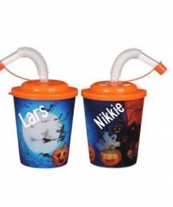 Traktatie bekers Halloween - met naam - met naam- Trakteren op school - Traktaties - Traktatie beker - Hippe traktaties - Halloween