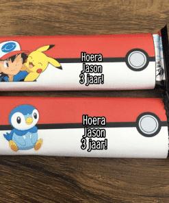 Koetjes reep traktatie - Pokemon - Trakteren op school - Peuterspeelzaal traktatie - Bumba traktatie - gepersonaliseerde traktaties