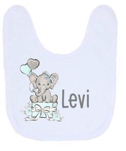 Kinderservies set - Giftset- Olifant cadeau blauw