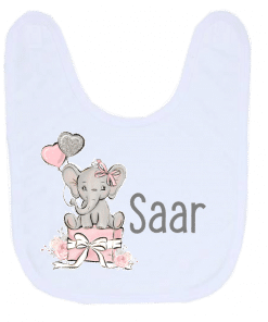 Kinderservies set - Giftset- Olifant cadeau roze - Kinderservies met naam - Geboorte cadeau - Gepersonaliseerde cadeaus - Naam cadeau