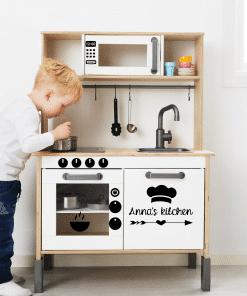 Ikea Duktig keuken sticker - Kitchen - voor de speelgoed keuken - Bella Kids Heb jij ze al? Leuk om ze wat persoonlijker te maken