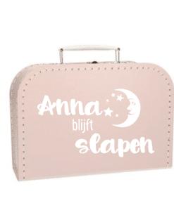 Kinderkoffer - Gepersonaliseerd met naam- Kraam cadeau